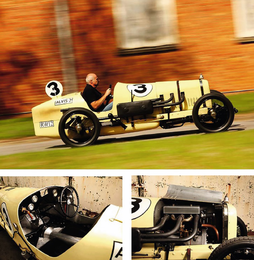 Three vintage, race-bred models from the early days of Alvis - Drive