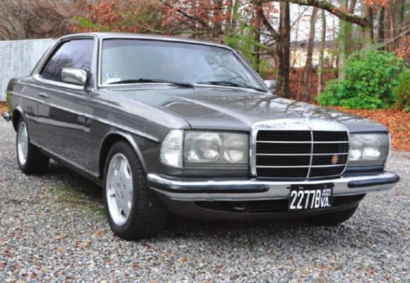 1983 Mercedes-Benz C123 M117 V8