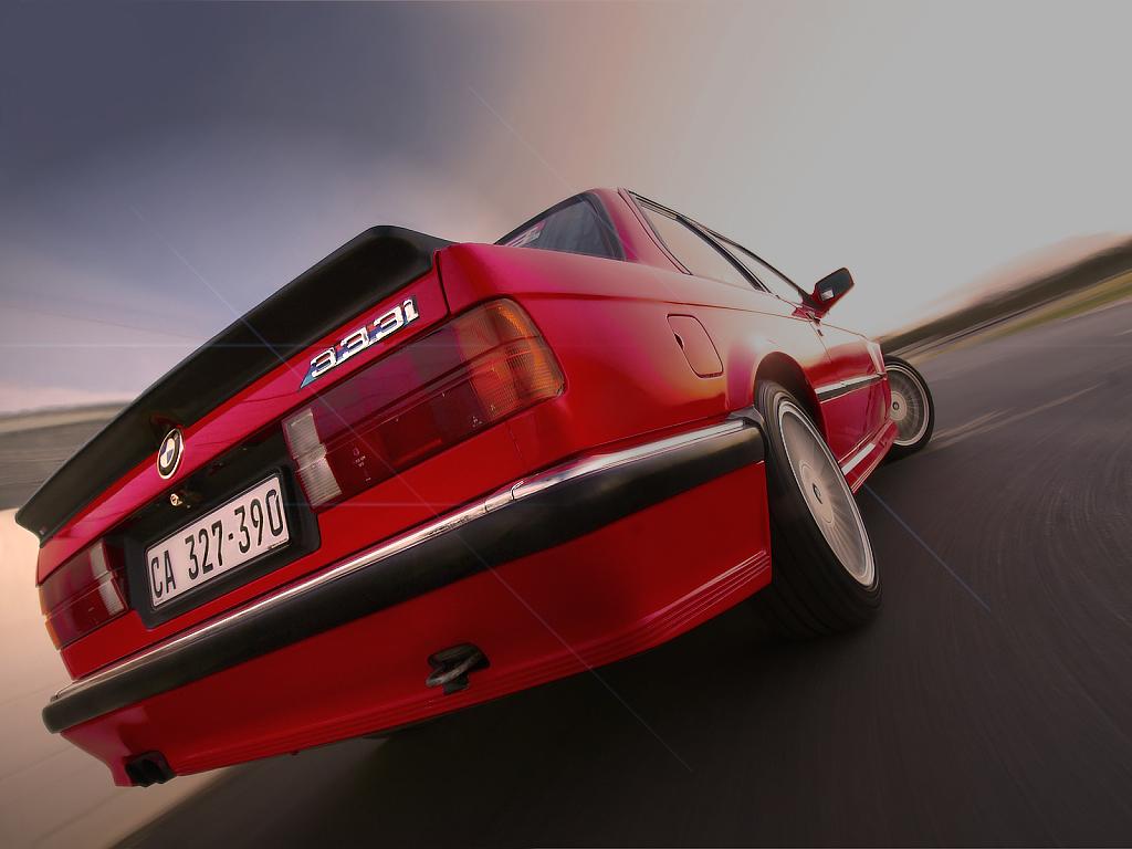 Giant Test 1986 BMW 333i E30 Drive