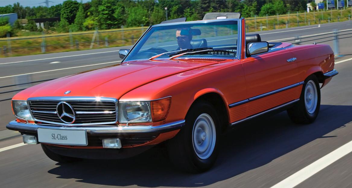 Mercedes Benz 450sl R107 Drive