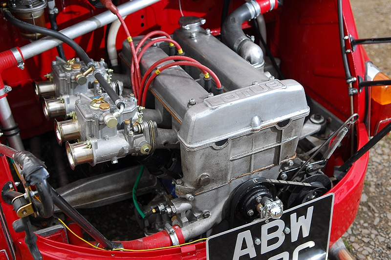Bonkers Tornado Fiat 600 Packing A Lotus Twin Cam