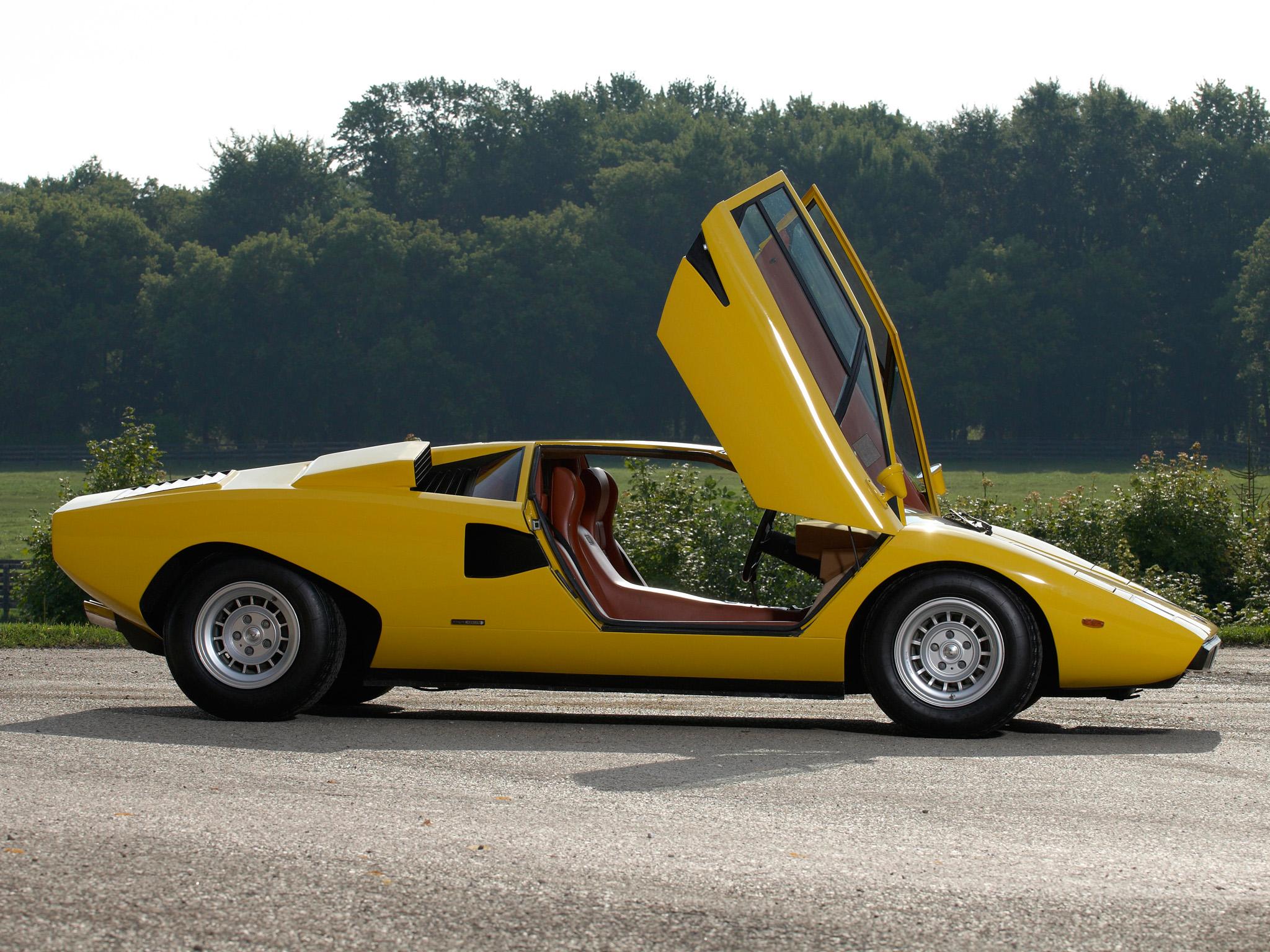 Lamborghini Countach Lp400 Motor Pinterest