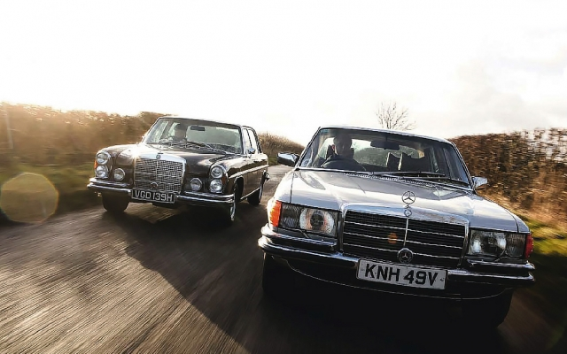 Tread carefully Mercedes-Benz 300SEL 6.3 W109 and its successor 450SEL 6.9 W116
