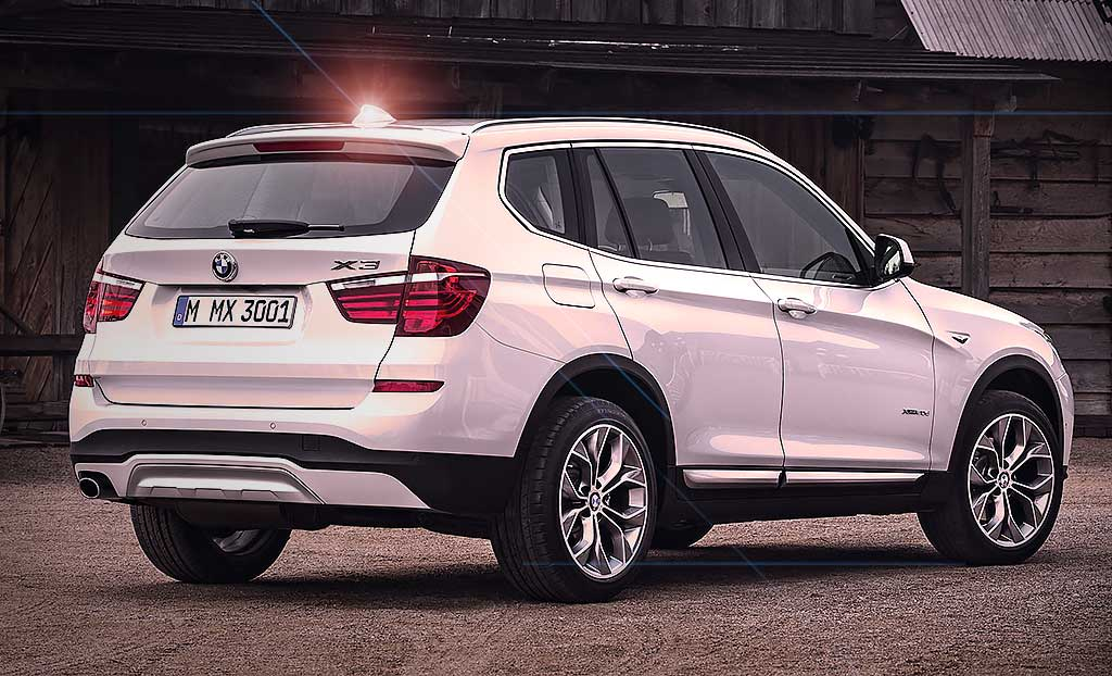 New Face Lift 2016 Bmw X3 F25 Drive