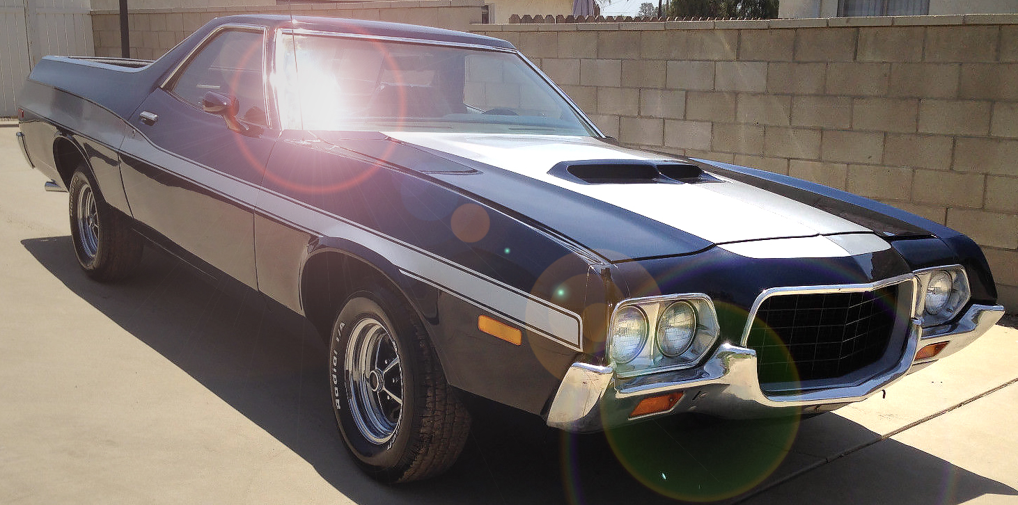 1972 Ford Ranchero - Drive