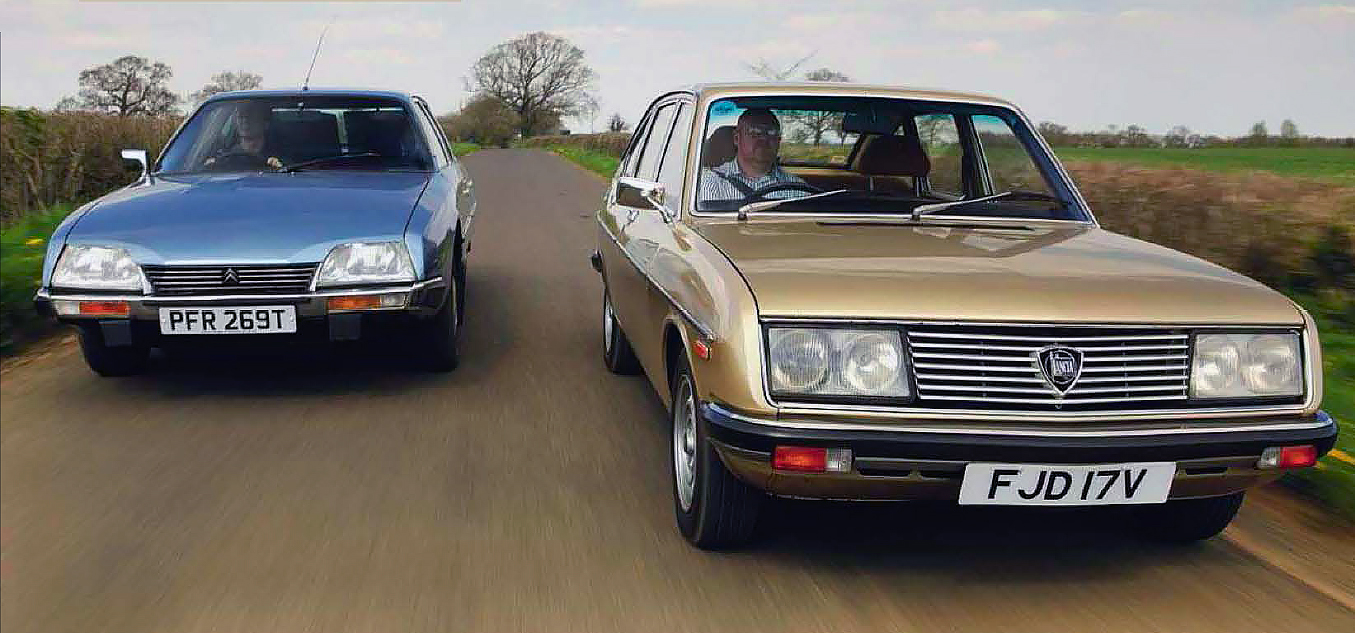 Lancia beta 2000es citroen cx 2400 c matic saab 99 and princess 2200hls tested drive