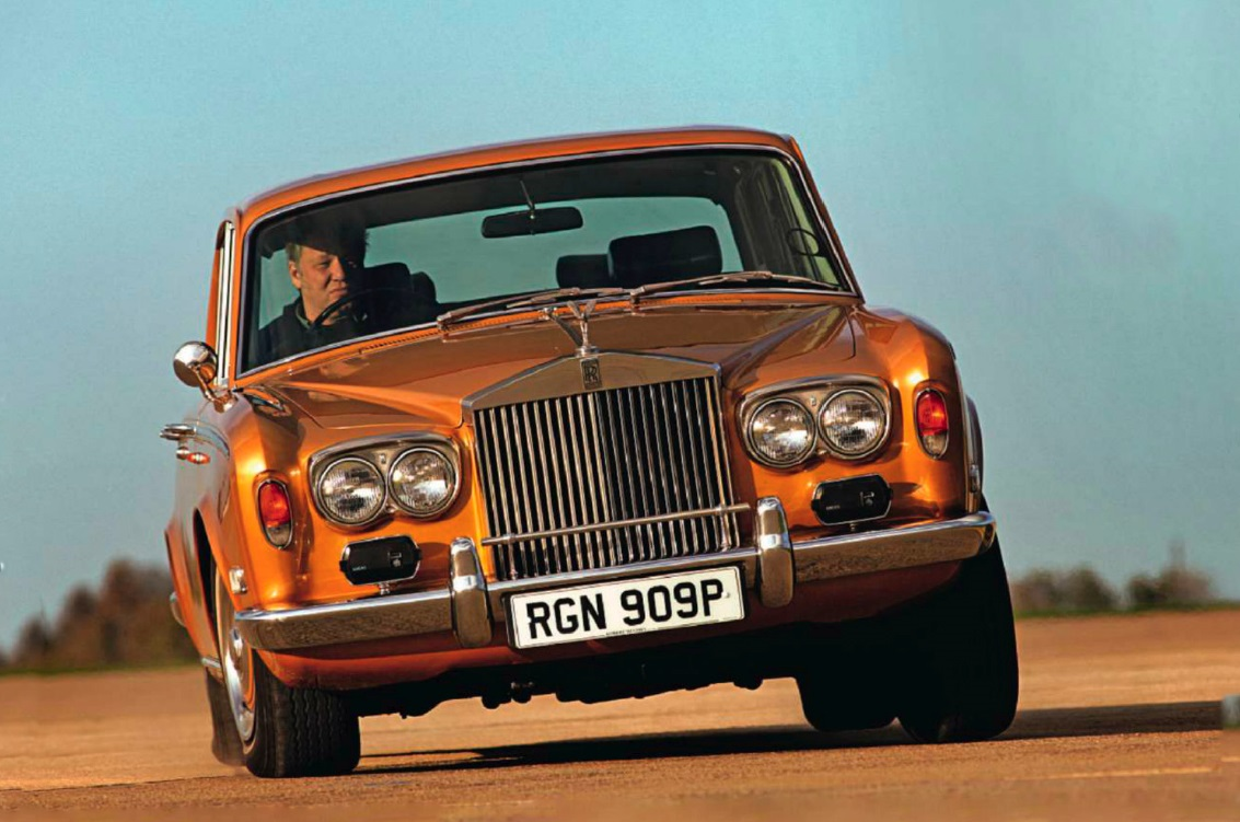 Rolls-Royce Silver Shadow vs Rover 3.5 Litre Coupe and Daimler V8-250 ...