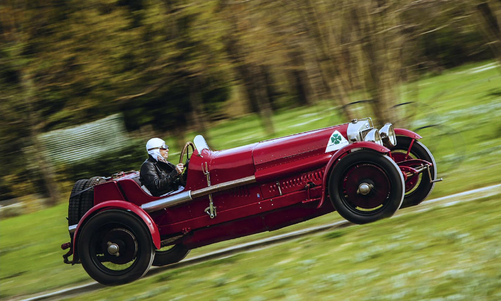1924 Alfa Romeo RL Targa Florio Team Car