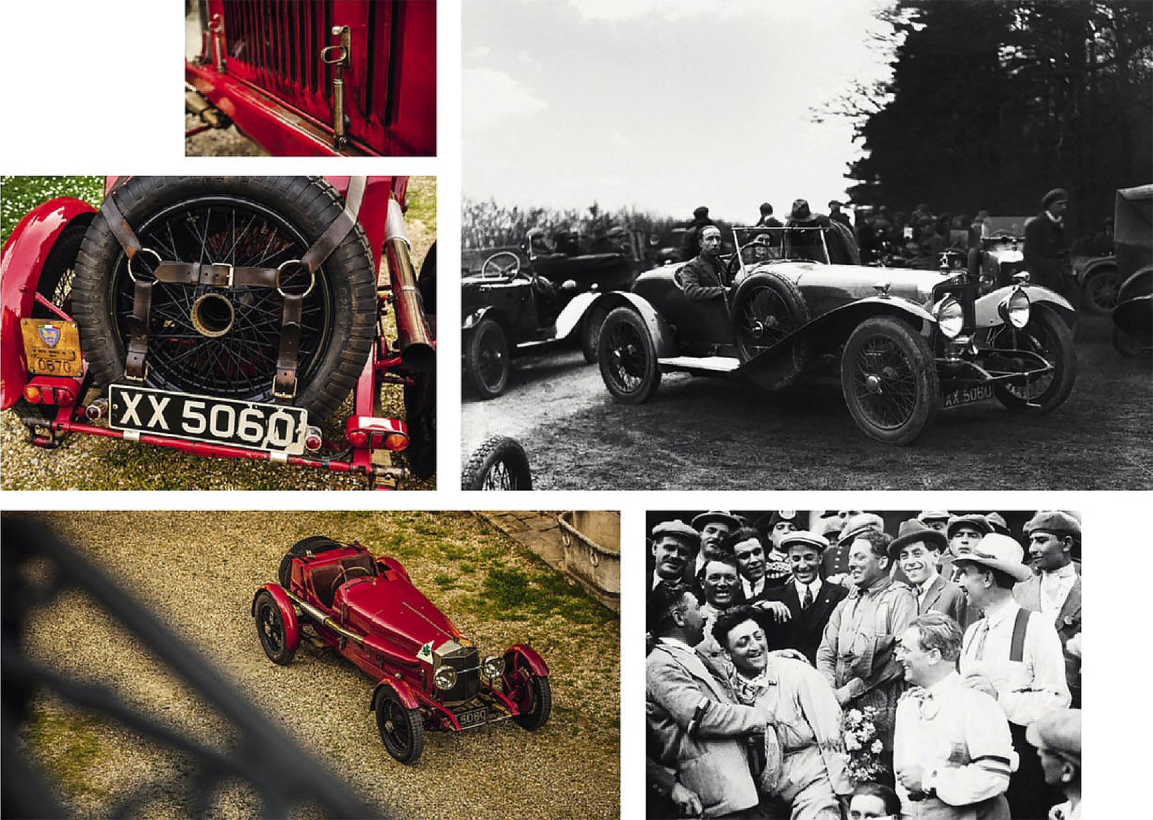 1924 Alfa Romeo Rl Targa Florio Team Car Drive
