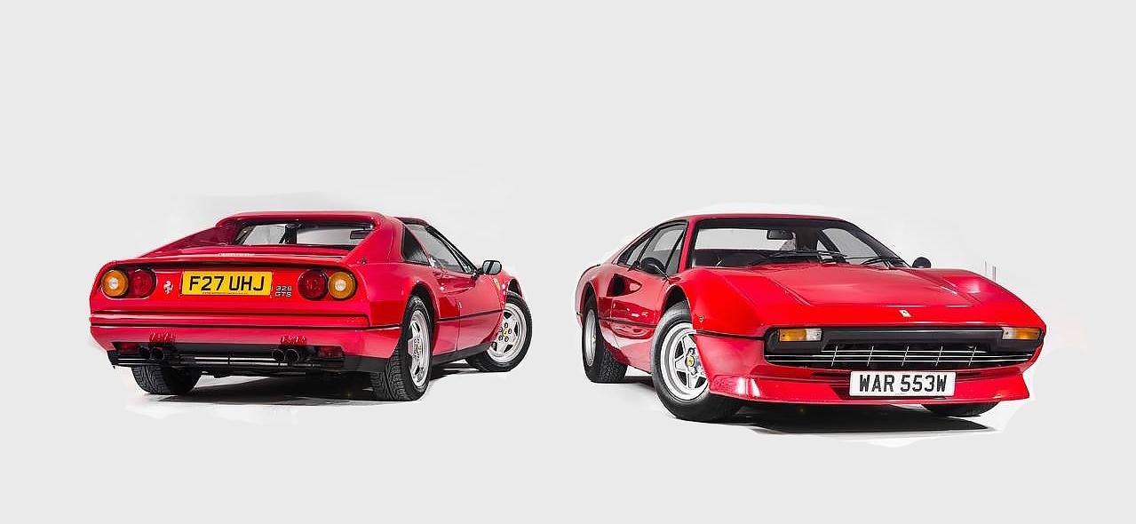The Ferrari 308 and 328, 'Top of the Bill' at SpaItalia 2015 ...