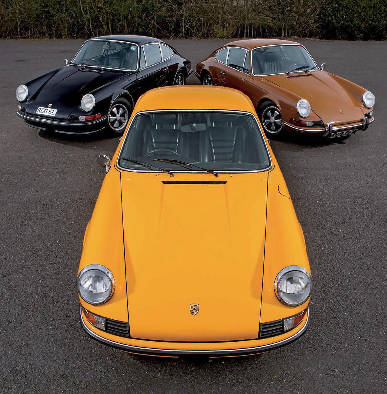 1973 Porsche 911 Group Test The Full Set Drive Fuel Pump