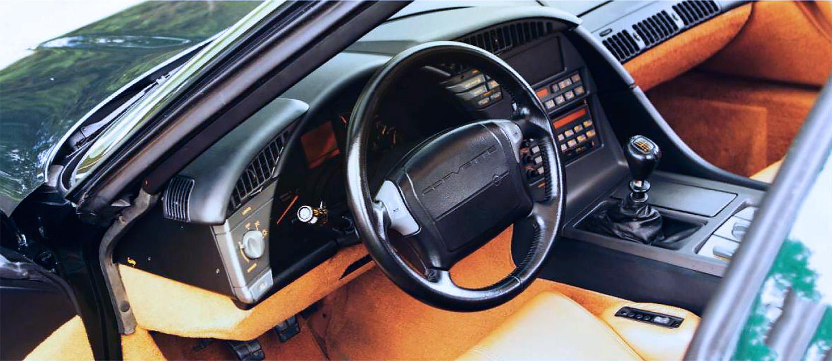 1991 Chevrolet Corvette ZR-1 C4 road test - Drive
