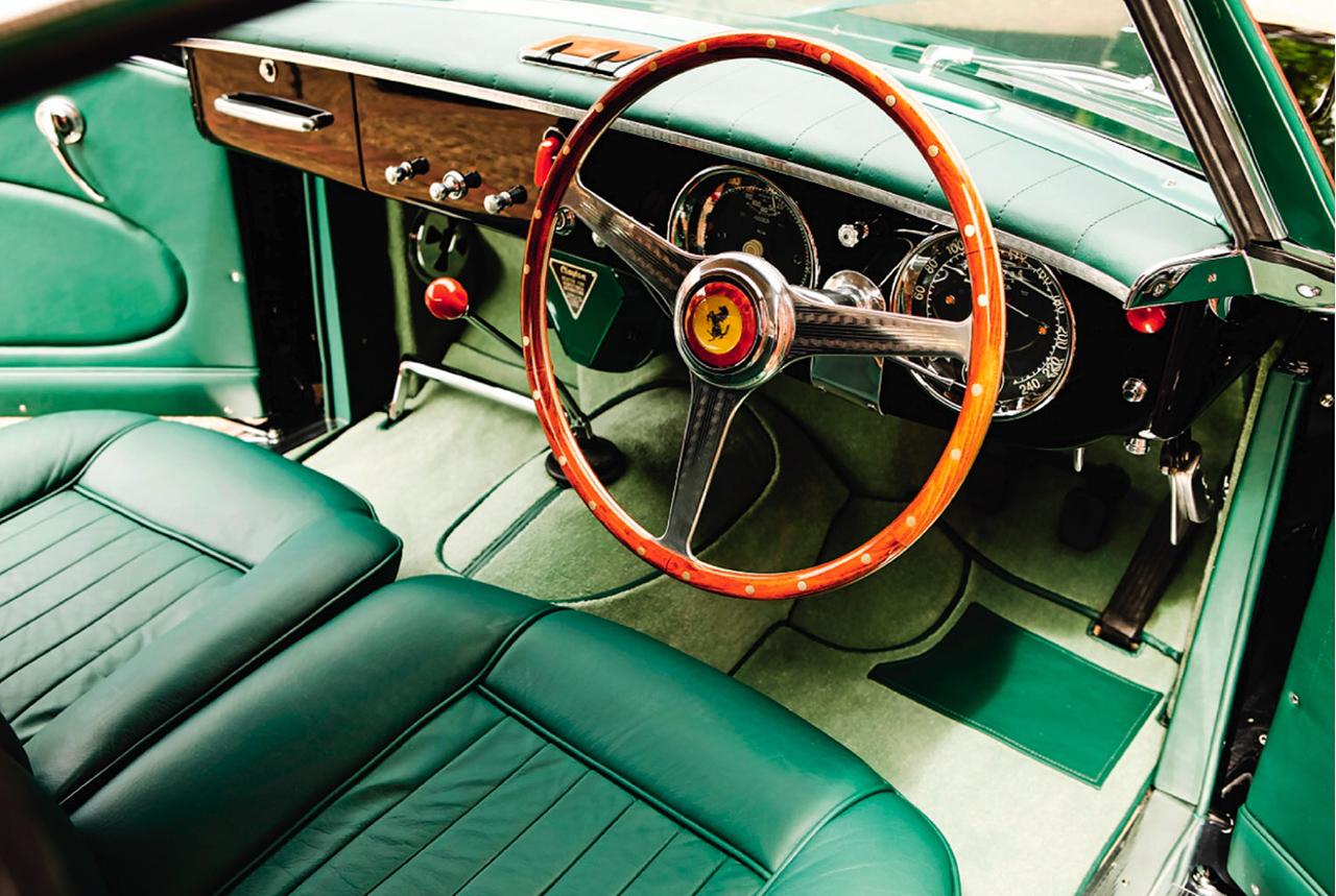 Ferrari 212 Inter Coupe Vignale Drive