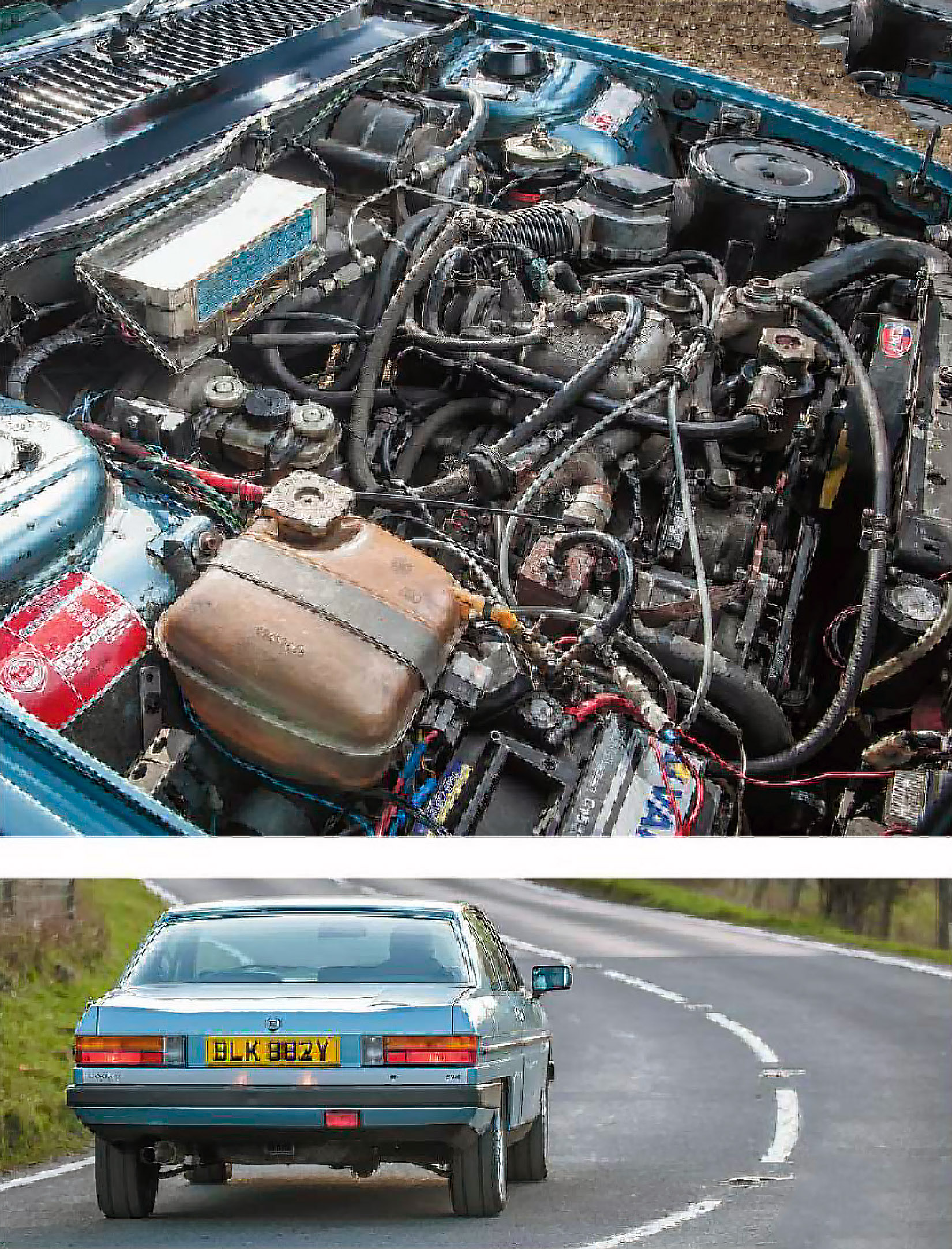 Lancia Gamma Coupe test-drive - Drive