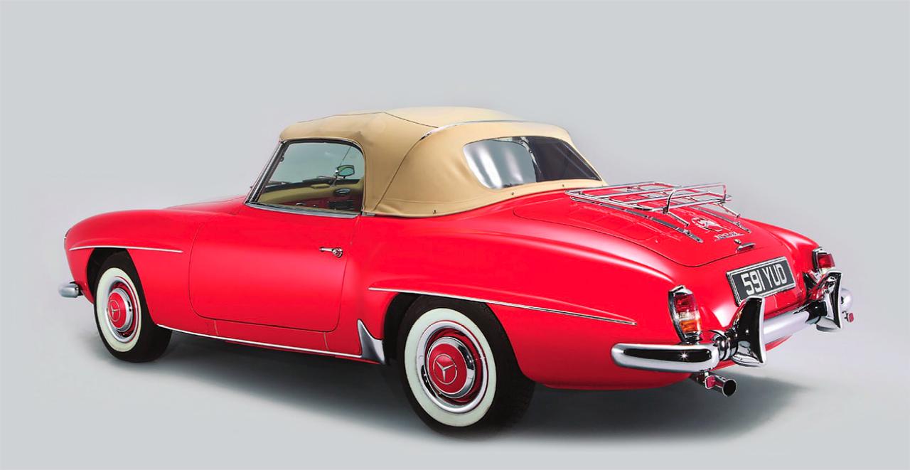 Mercedes benz 190sl w121 1955 1963 drive for 1955 mercedes benz 190sl