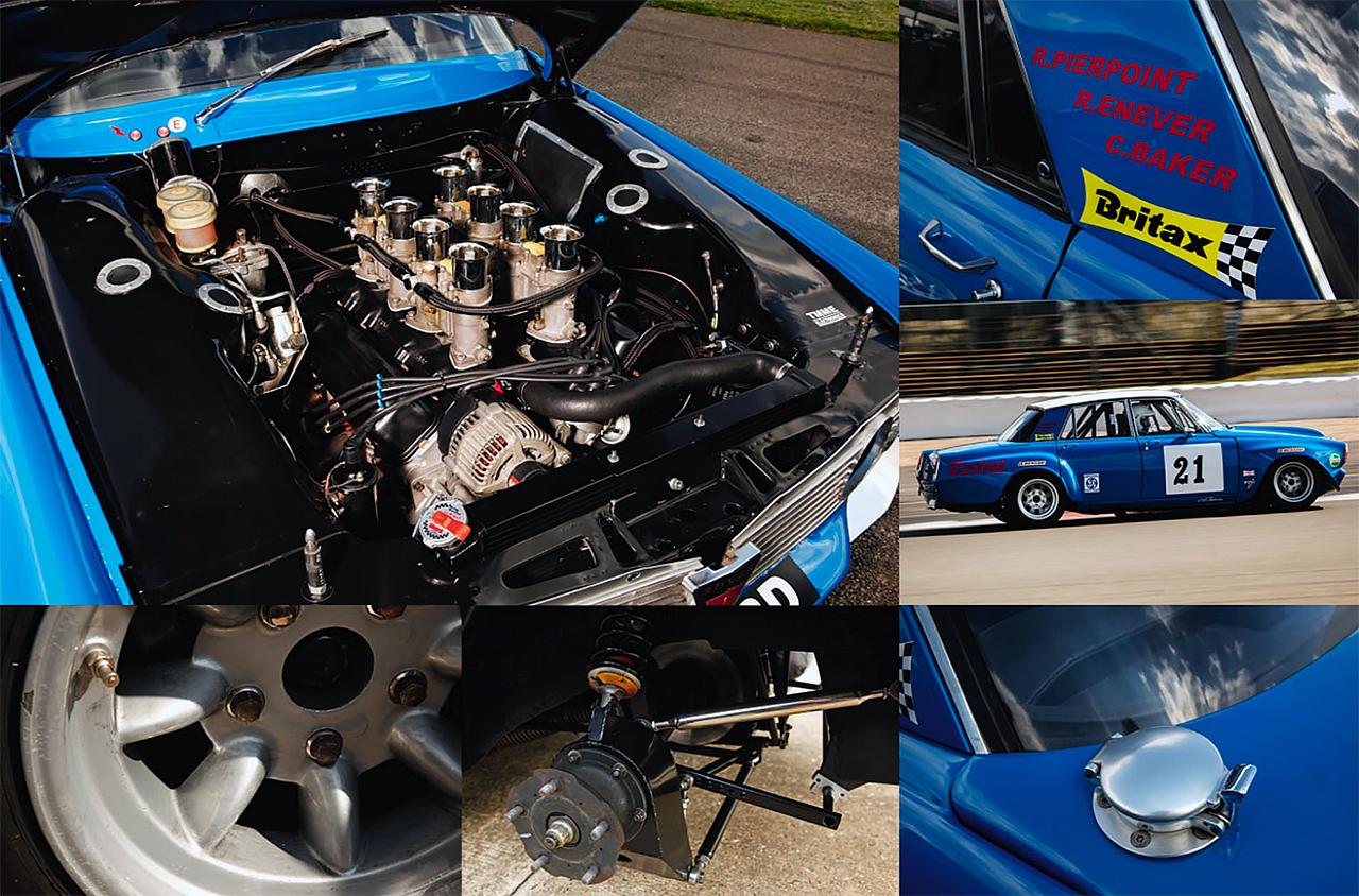 Rover P6 Racing Car