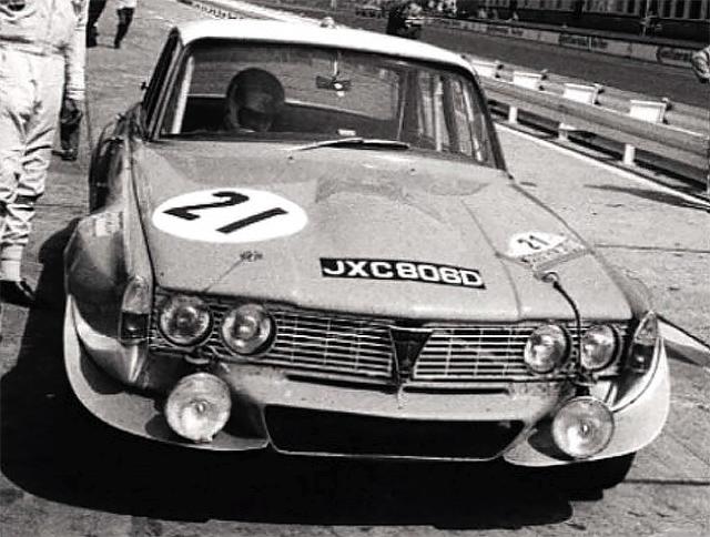 Rover P6 Racing Car Drive