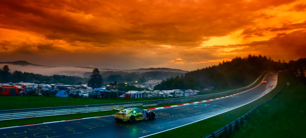 2016 Nürburgring 24 Hours including monumental hail storms BMW M6 GT3's