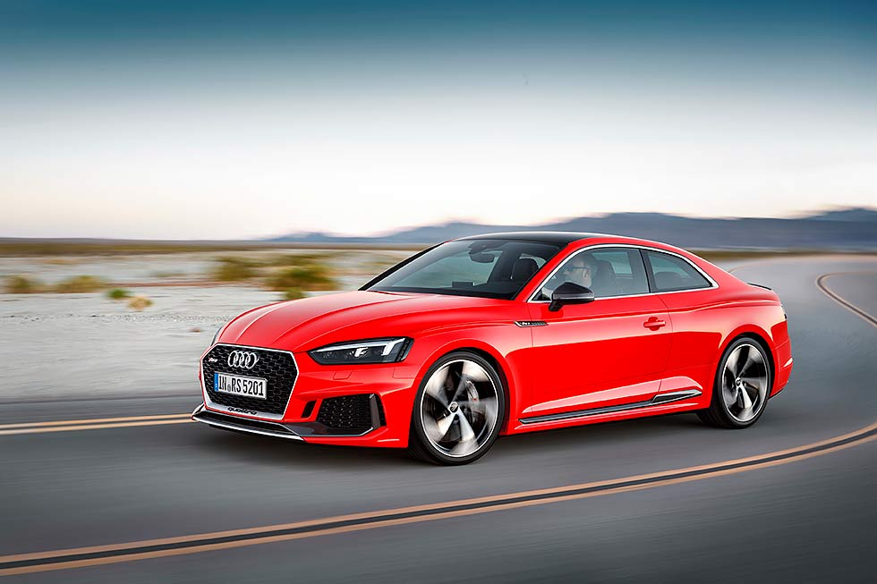 All new Audi RS5 F5