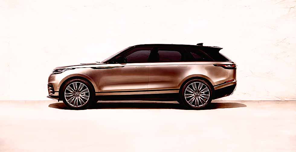 Exclusive First Look 2017 Land-Rover Range-Rover Velar - Drive