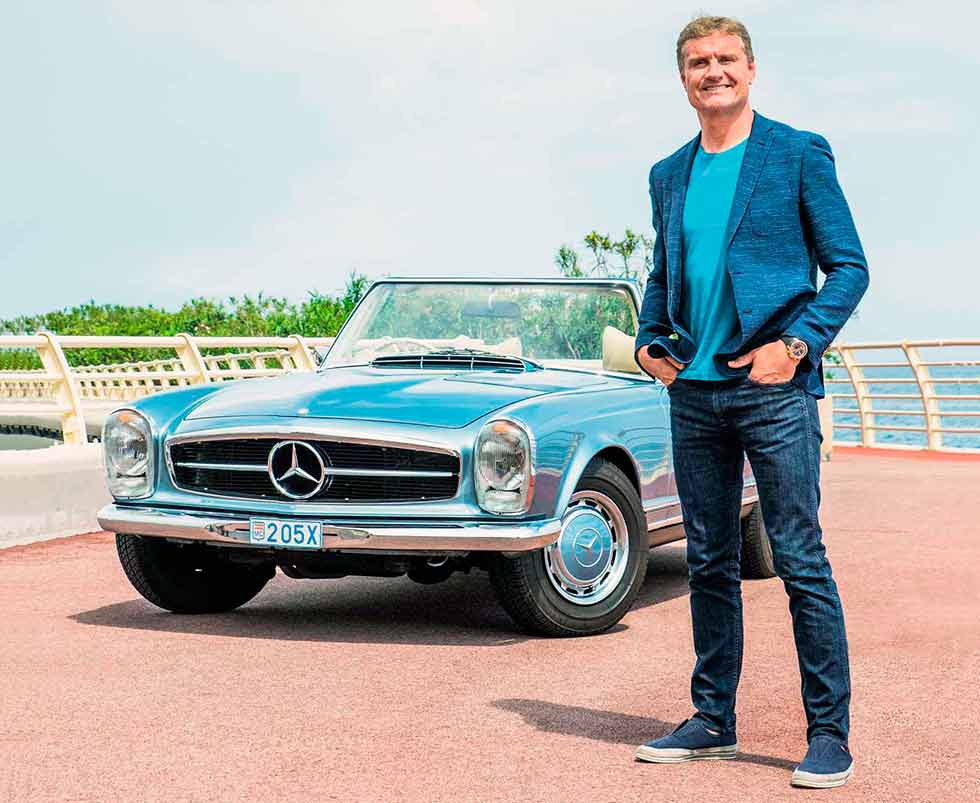 David Coulthard, F1's Mr Nice Guy and the Mercedes-Benz 280SL Pagoda W113