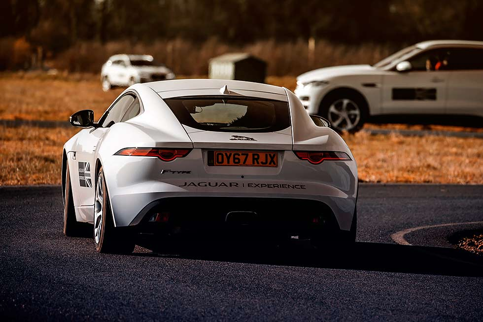 2018 Jaguar adds F-type and F-pace to ultimate young driver experience