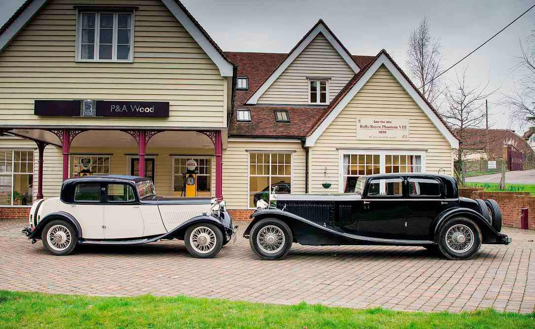 1931 Rolls-Royce Phantom II Continental and 1933 Singer Kaye Don Coupé