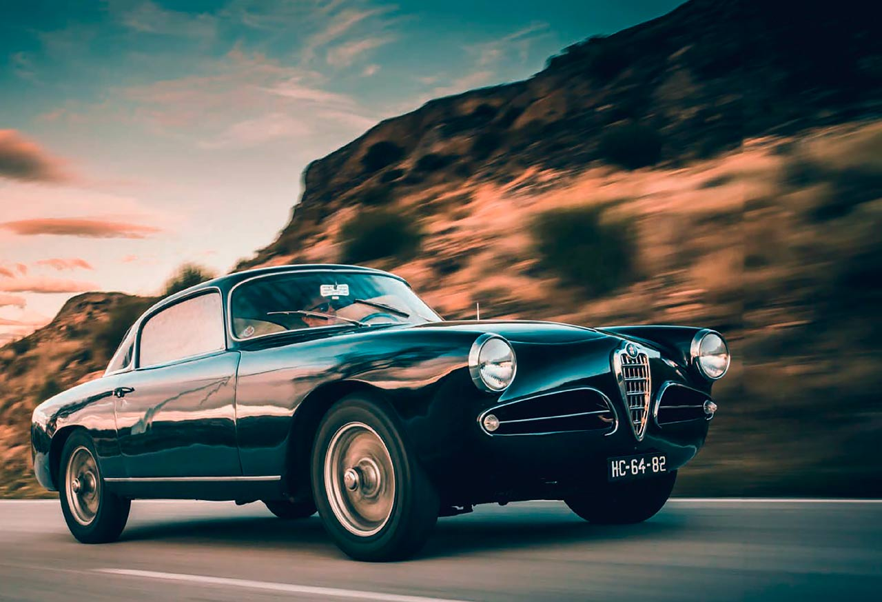 1956 Alfa Romeo 1900C Super Sprint Touring-bodied