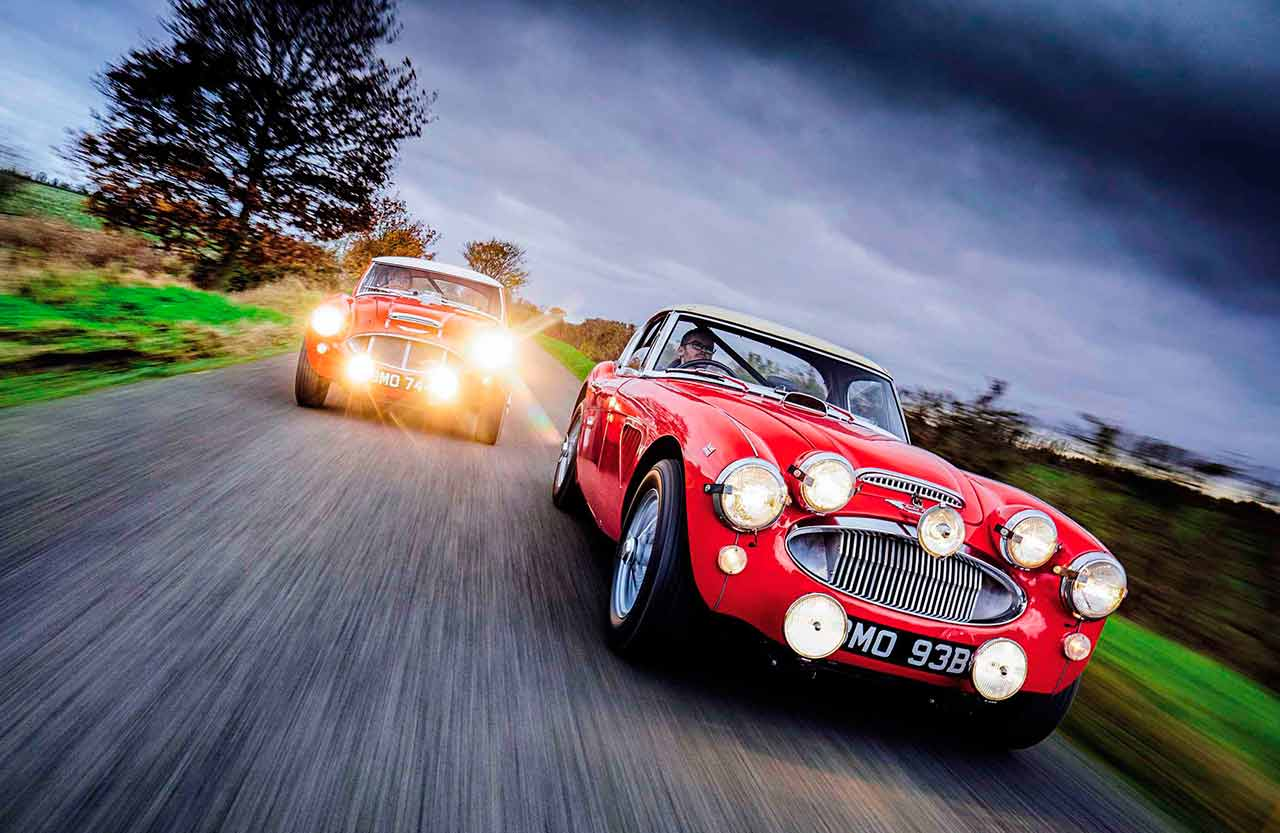1959 Austin-Healey 3000 'SMO 744' and 1964 Austin-Healey 3000 'BMO 93B'