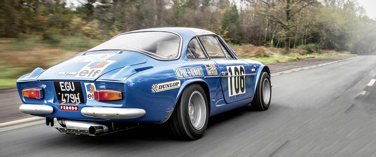 Souvent 1969 Alpine-Renault A110 1500 driven - Drive JS75