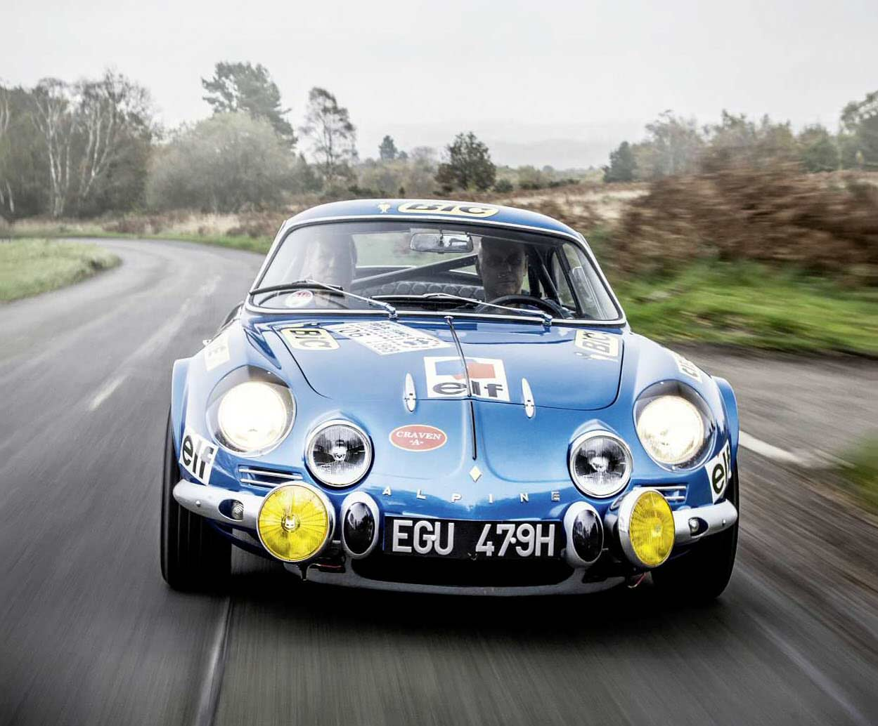1969 alpine renault a110 1500 driven drive. Black Bedroom Furniture Sets. Home Design Ideas