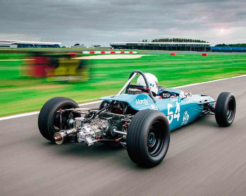 1970 Merlyn Mk17 Formula Ford 1600 track test - Drive