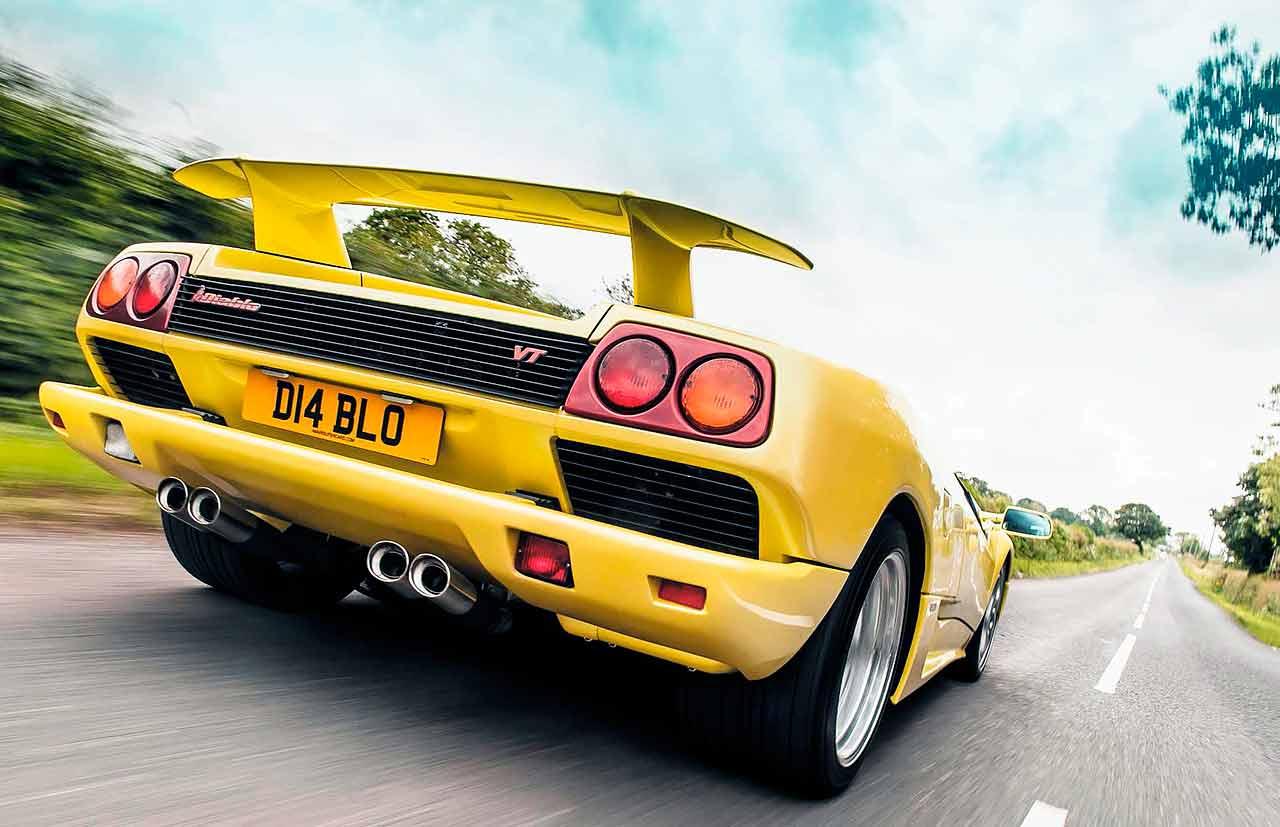 1999 Lamborghini Diablo Vt Coupe Road Test Drive