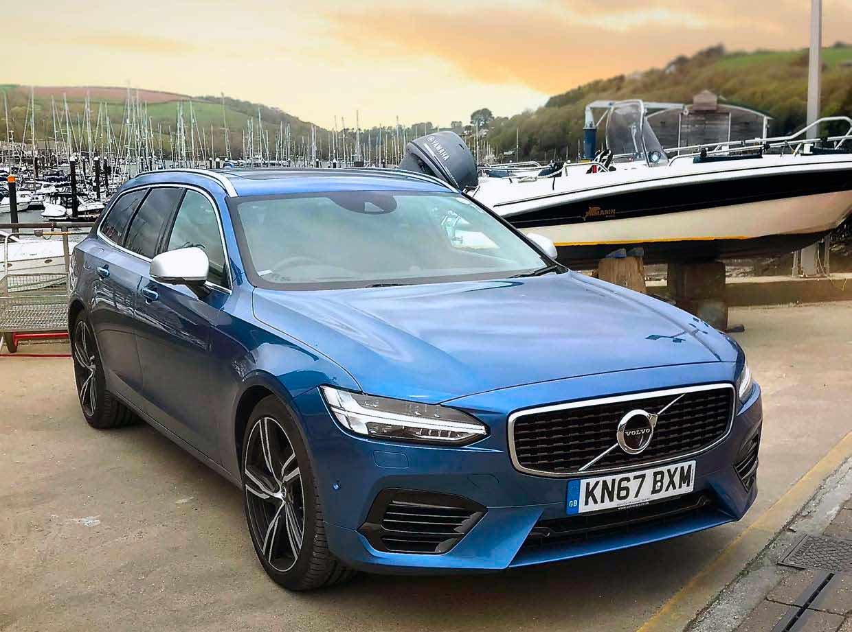 Volvo S90 T8 Review >> 2019 Volvo V90 T8 Twin Engine R-Design Pro - Drive