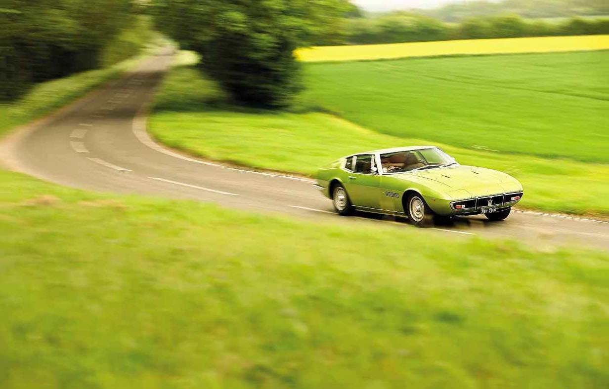 1971 Maserati Ghibli SS Tipo AM115 - Drive