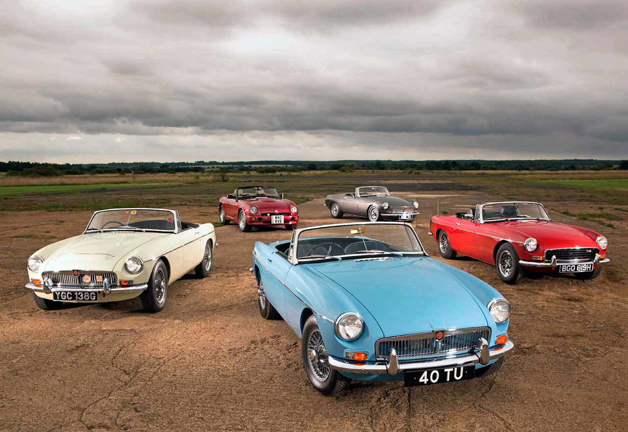 Best of British - MGB, MGC, Costello V8, MG RV8, Abingdon