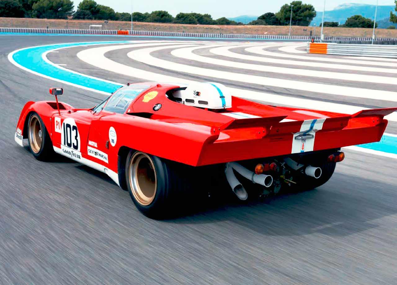 1970 Ferrari 512M track test - Group 5 great driven at Paul Ricard