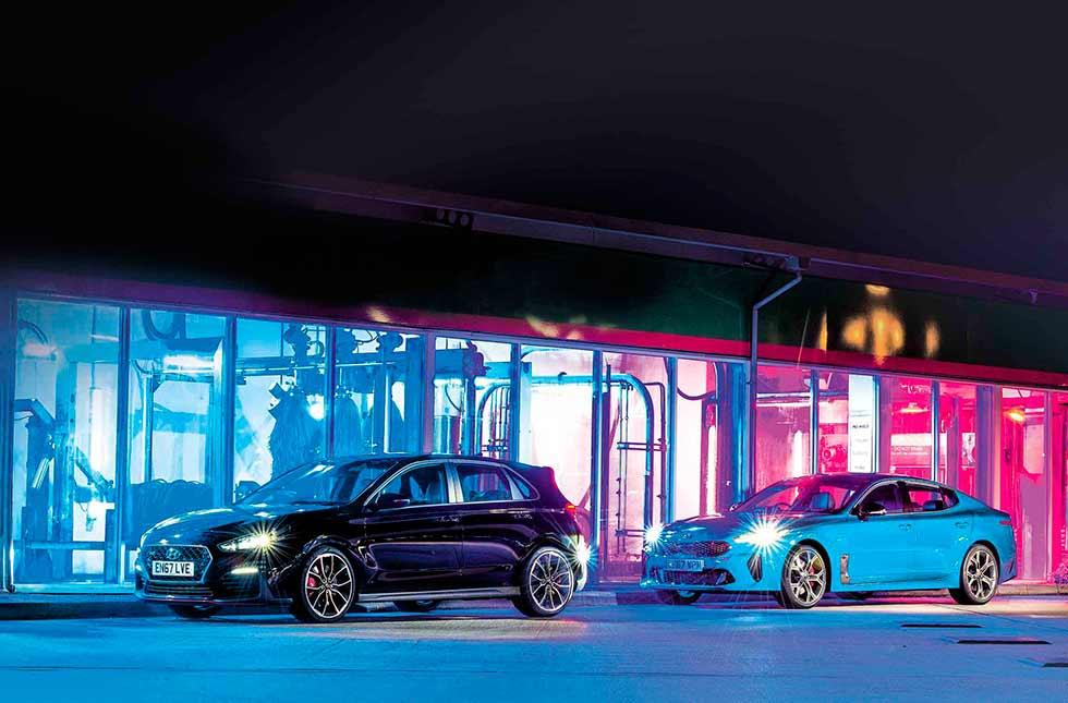 2019 Hyundai I30 N Performance And 2019 Kia Stinger Gt S The Rise