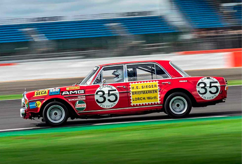Red Pig 1971 Mercedes Benz 300 Sel 6 8 Amg W109 Monster