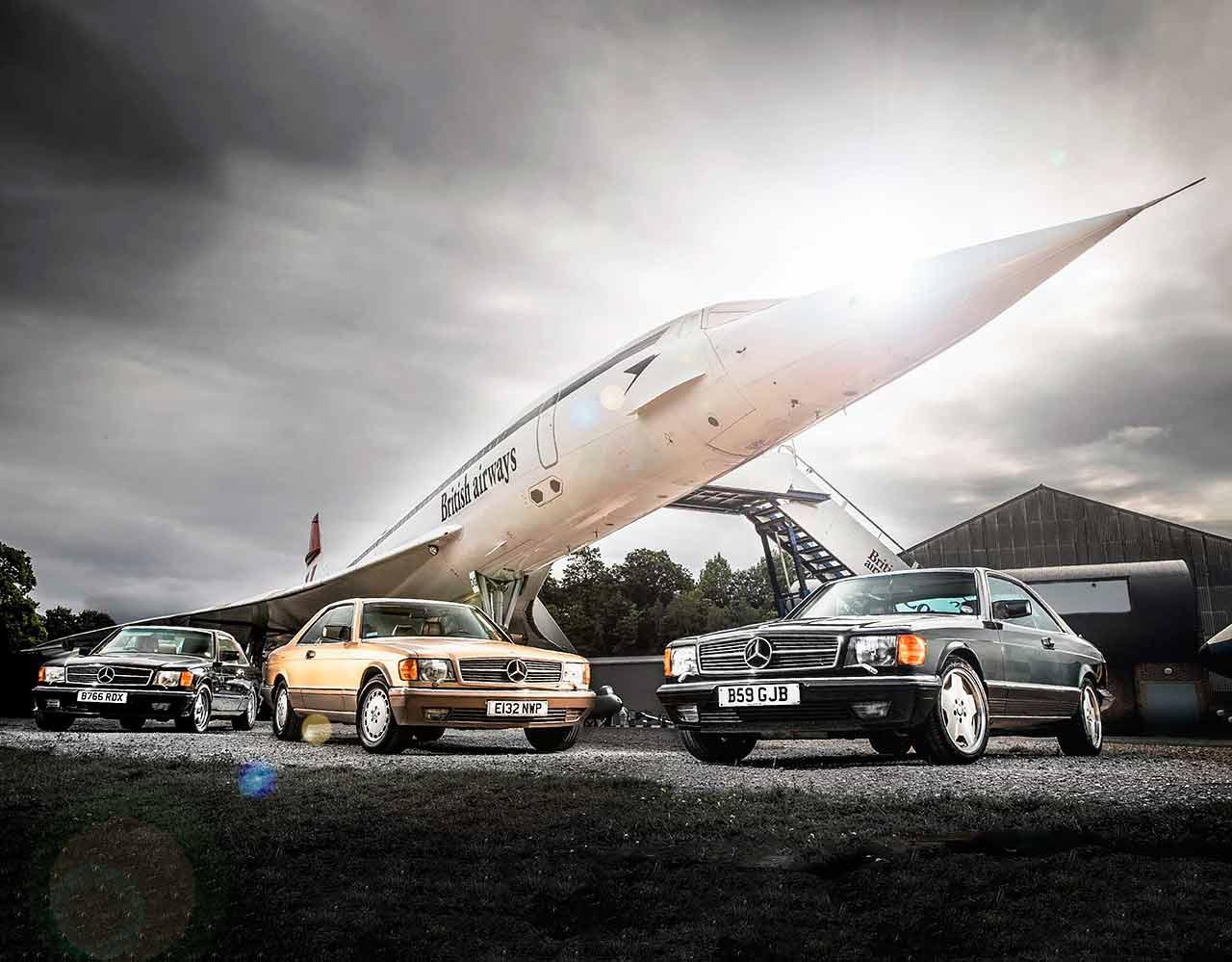1982 Mercedes-Benz 500SEC C126 and 1986 560SEC - reliving Eighties ...