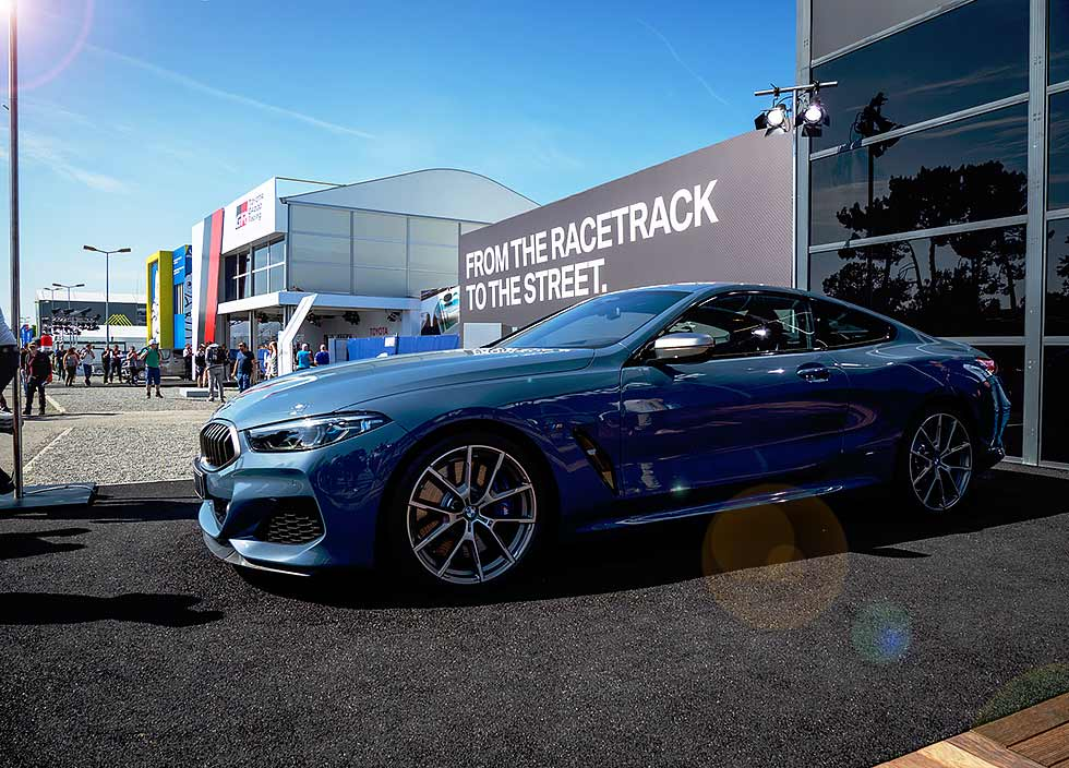 2019 Bmw M850i In Barcelona Blue Live From Le Mans Drive