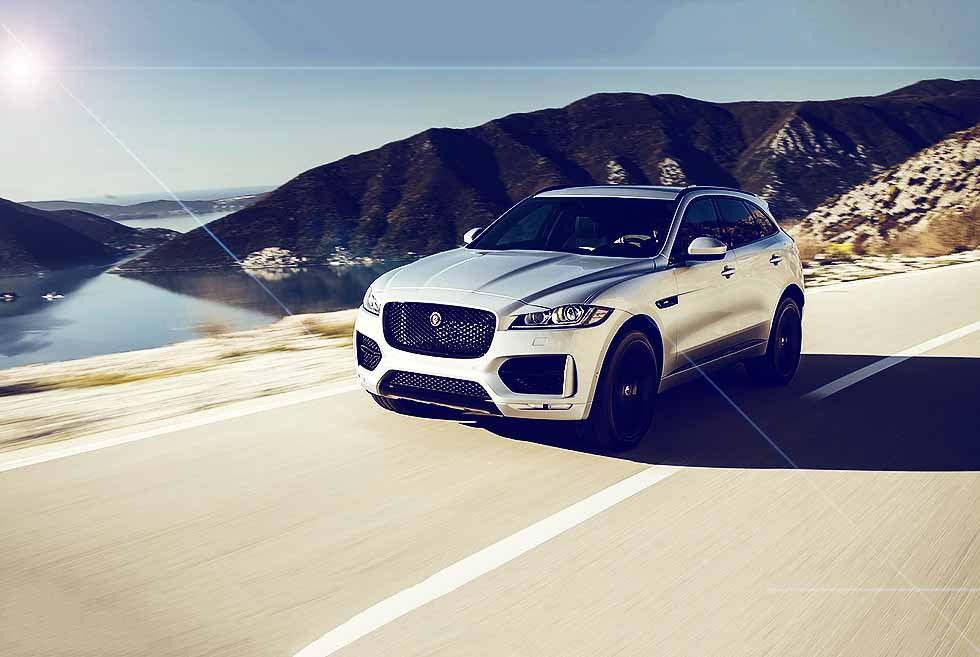 2019 model year Jaguar F-Pace