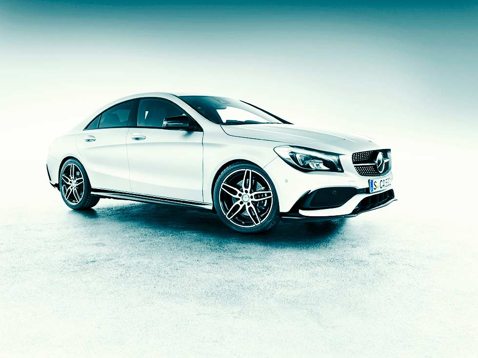 Mercedes Benz Diesel Versions Amg Line Of The Cla Class C117 Cla