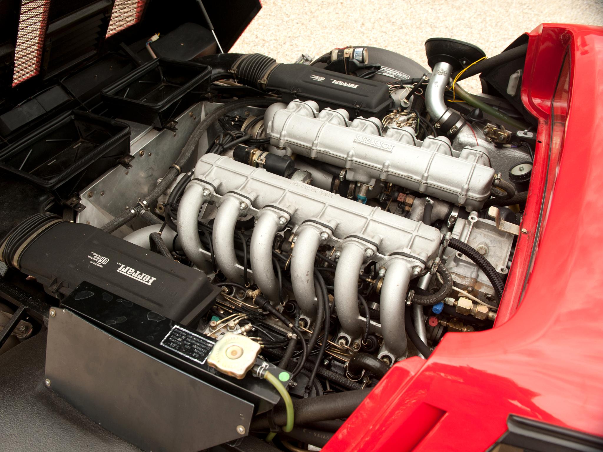 Ferrari 512 BBi 1981–1984 US spec engine Ferrari 512 BBi 1981–1984 US spec  engine ...