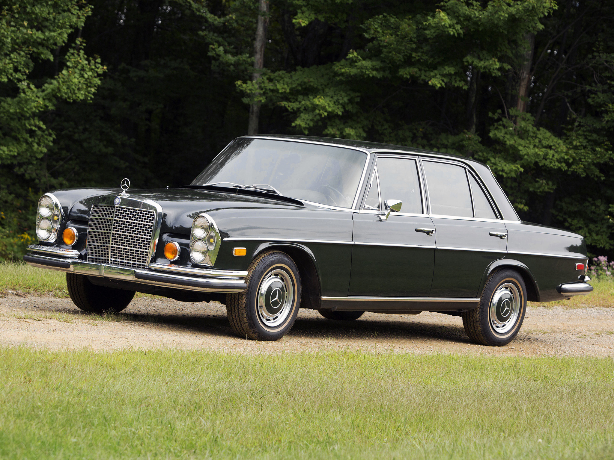 Mercedes Benz 280 Se W108 Vs Bmw 2800 E3 Test Drive Drive