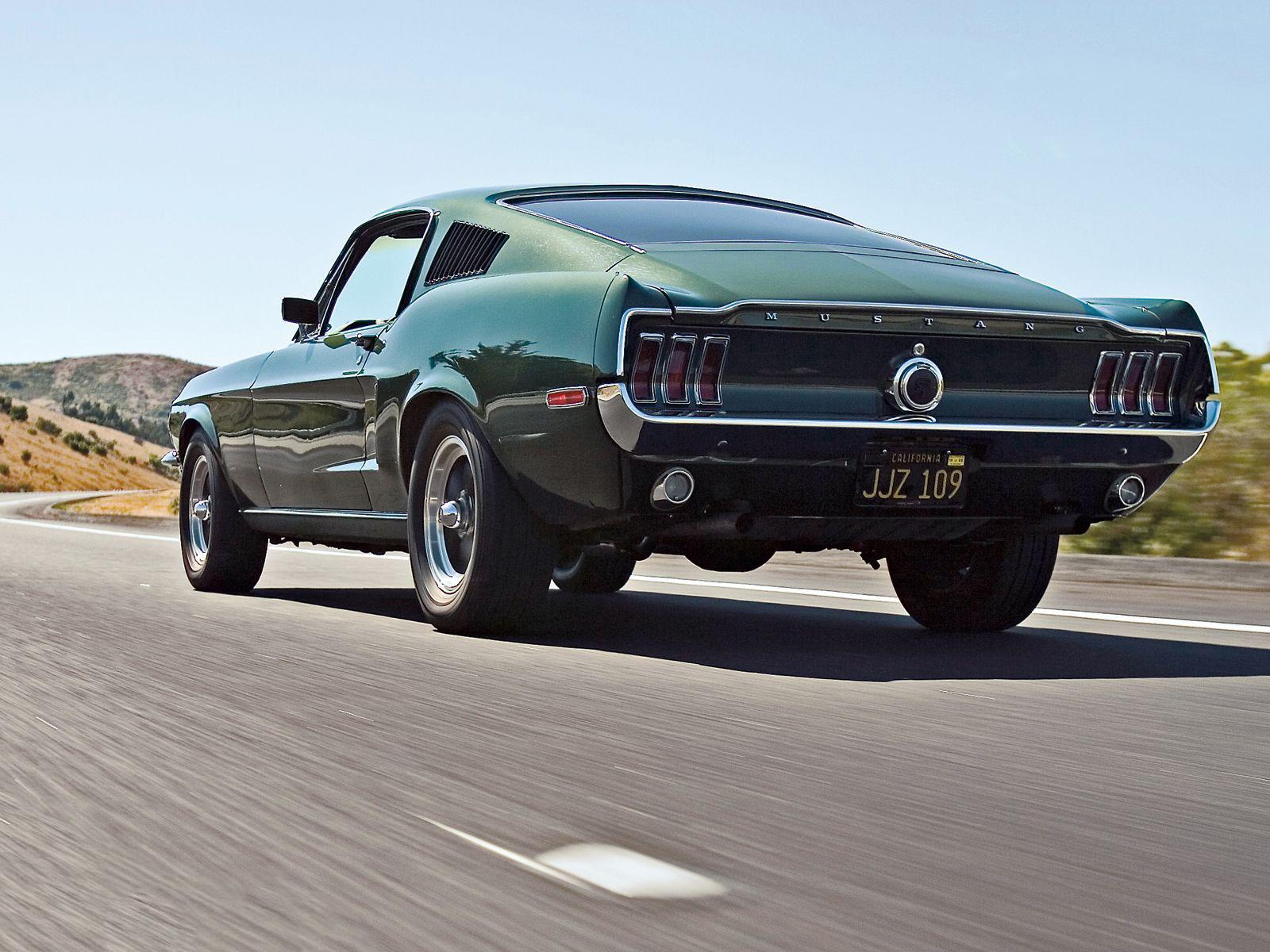 Mustang 390 GT bullitt 1968 6