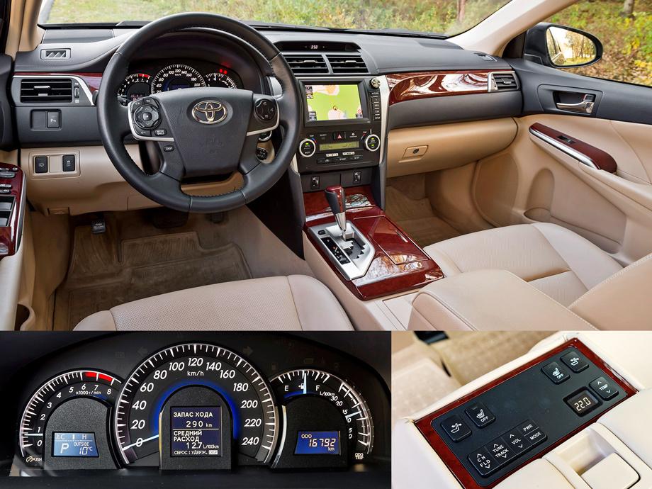 Toyota распространила подробную информацию о новой Camry