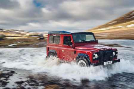 2018 Land Rover Defender limited edition £150,000
