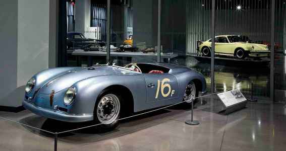 1951 Porsche Sauter Porsche 356 Roadster