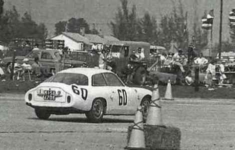 1961 Alfa Romeo Giulietta Sprint Zagato SZ Coda Tronca